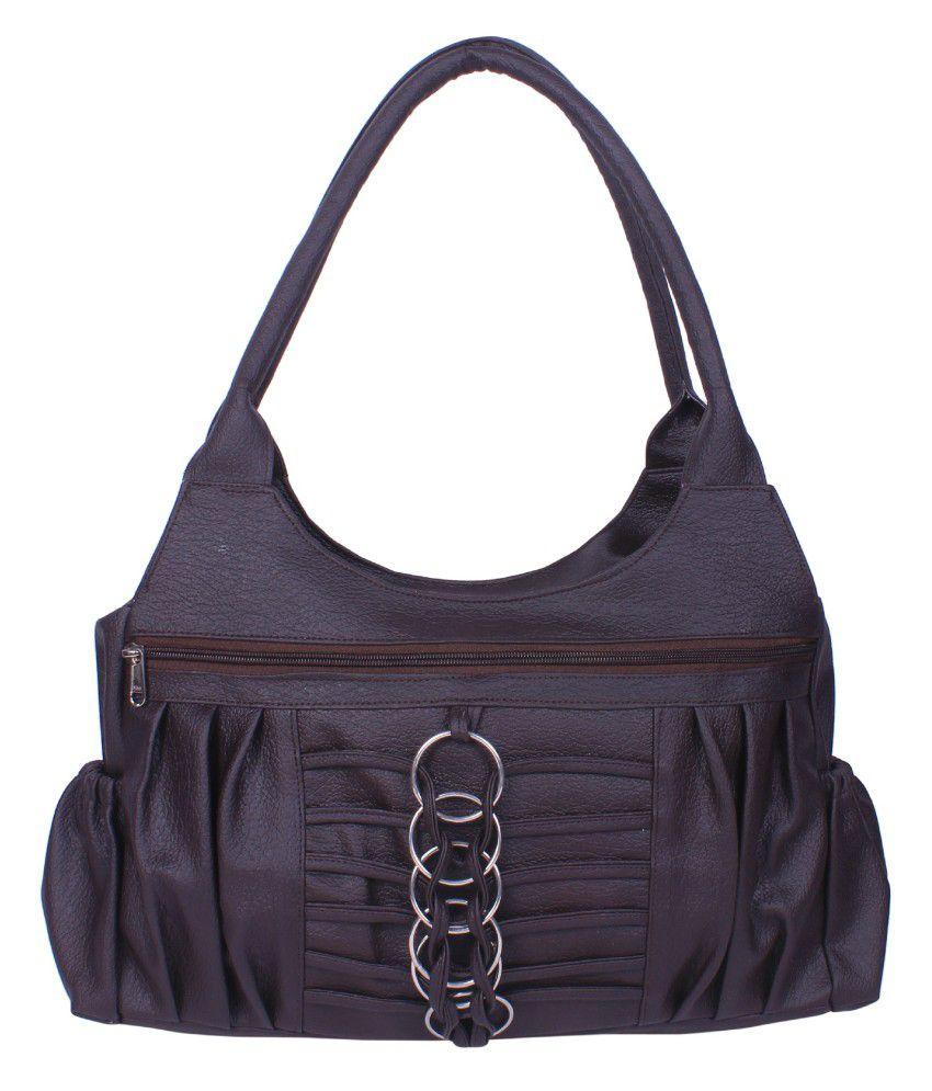 Arc Hnh Brown Shoulder Bag