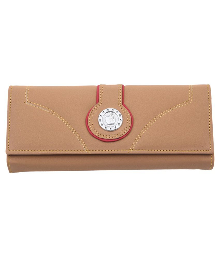 Sanjog Stylish Desert Sand Clutch/Wallet