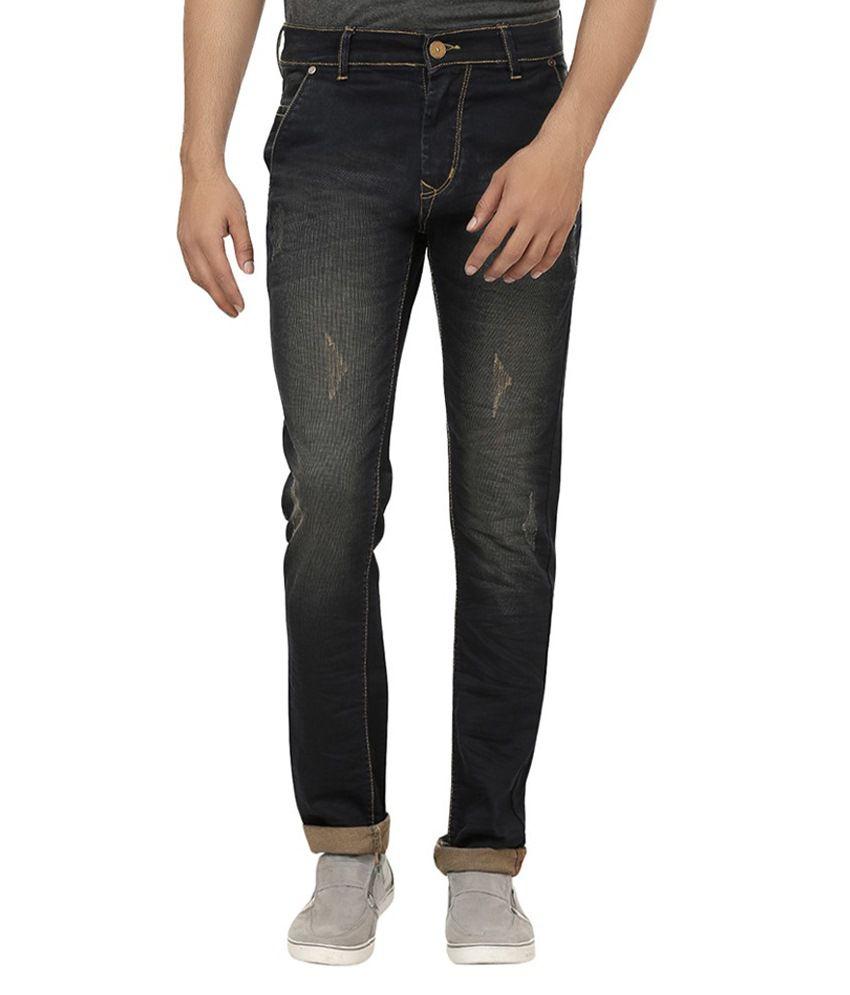 Figaro Blue Regular Fit Jeans