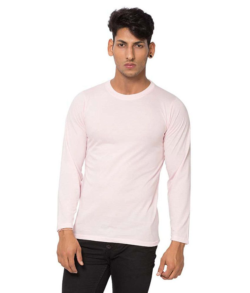Alan Jones Pink Cotton T-Shirt