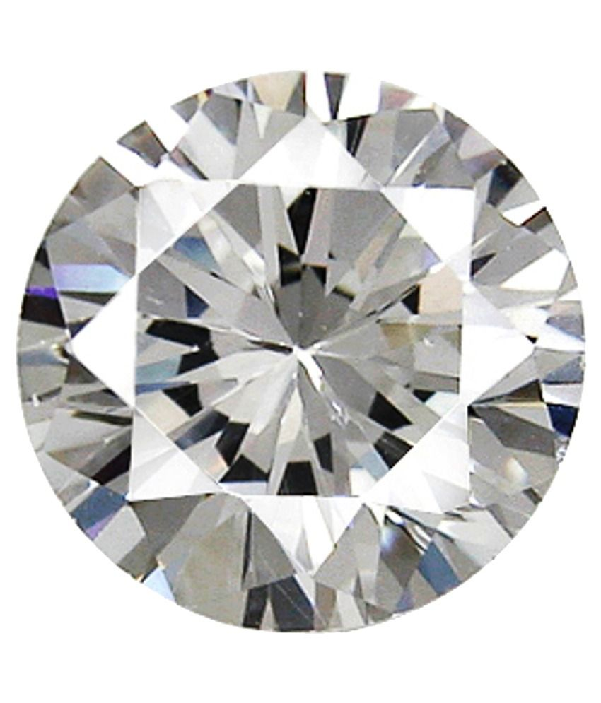 Gem World Impex White Gia Certified Solitaire Diamond - Pack Of 1000