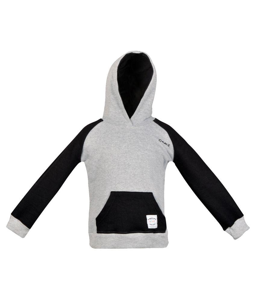 Gkidz Grey Cotton Sweatshirt