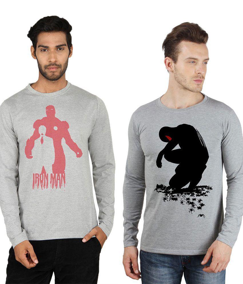Sayitloud Multicolour Cotton T-Shirt
