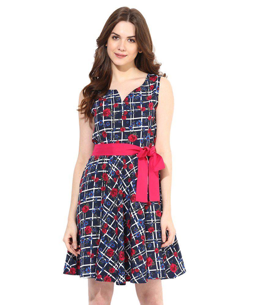 Abiti Bella Multi Polyester Dresses