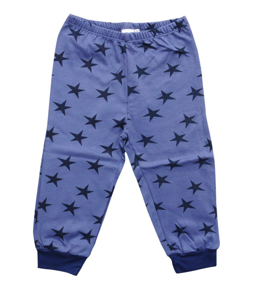 Most Wanted Blue Cotton Capris