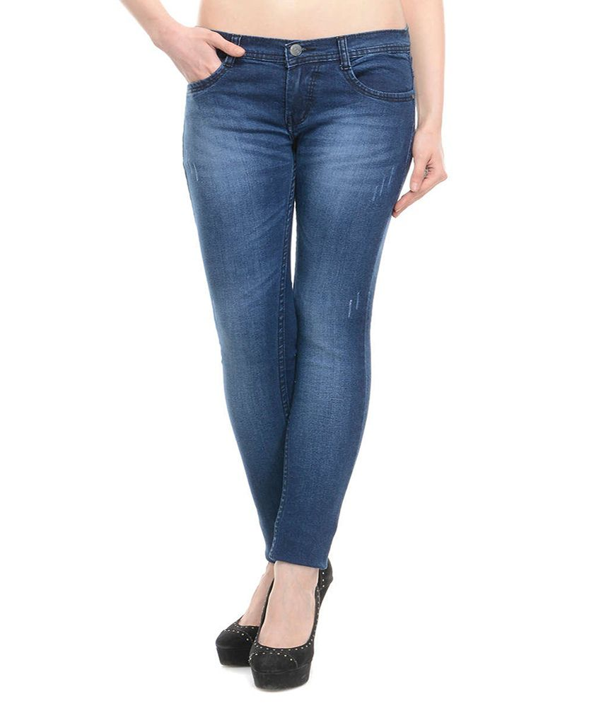 Buy American-Elm Women's Stretchable Pack of 3 Jeans Online at ...