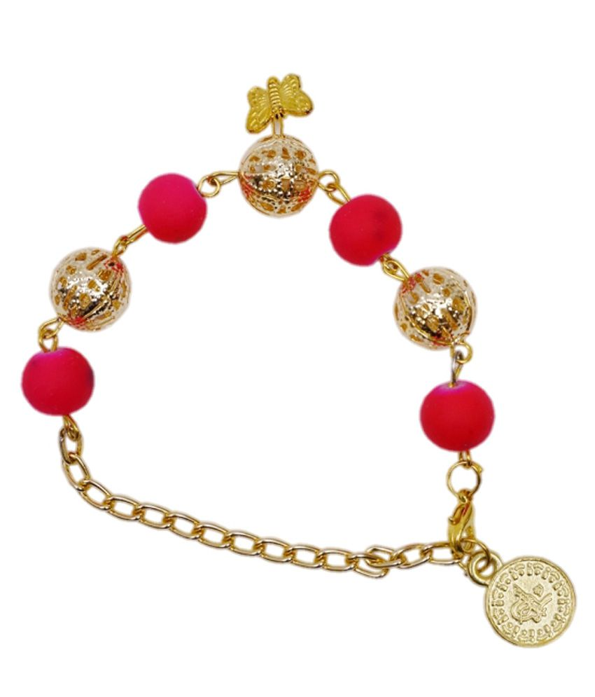 Sejal Life Space Casual Hit Golden Bracelet