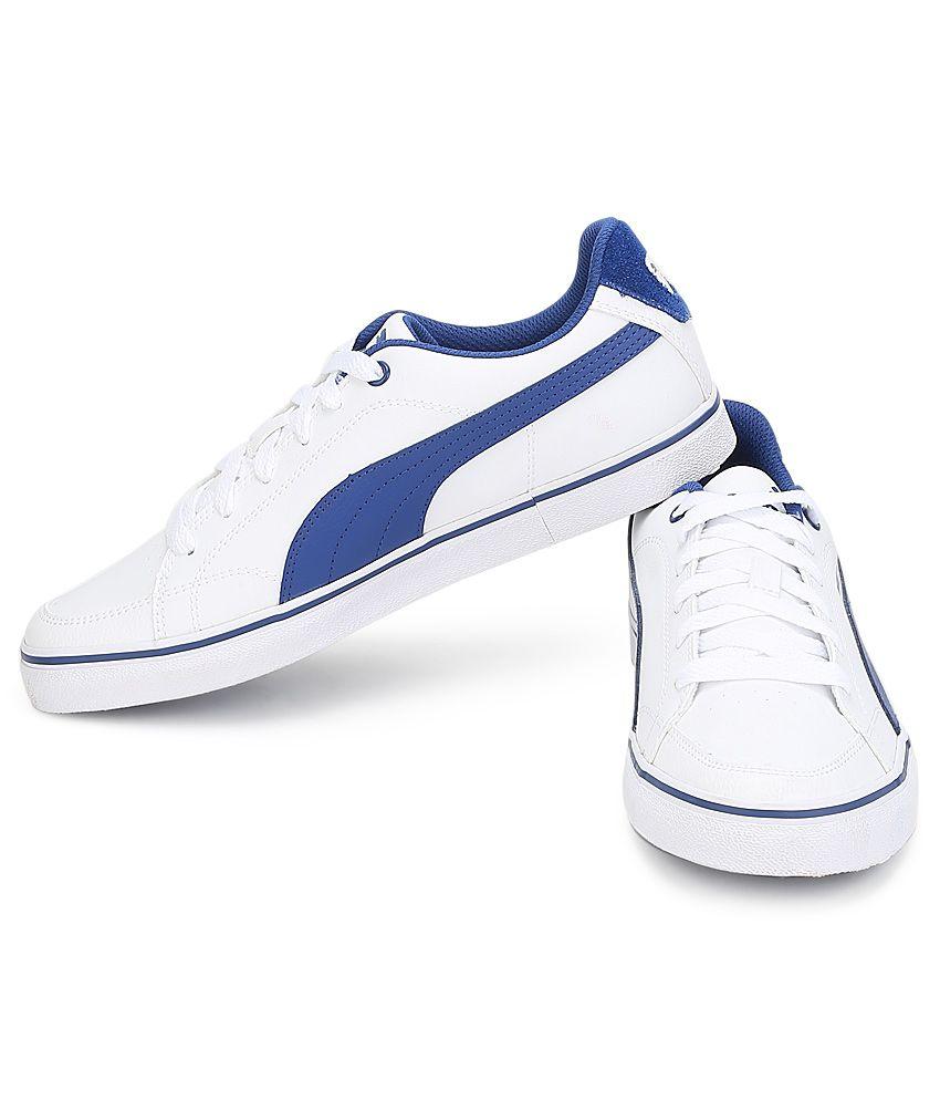 low priced c05f3 88bfc Puma Court Point White Casual Shoes Puma Court Point White Casual Shoes ...