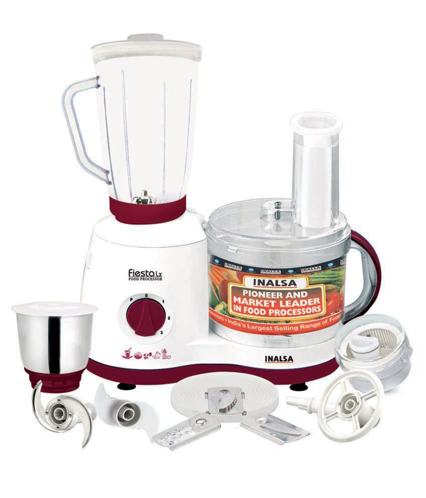 Inalsa fiesta lx food processor