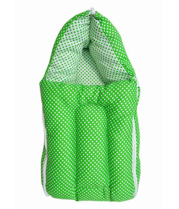 Younique Green Mixed Cotton Sleeping Bags