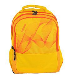 American Tourister Code07 20 L Backpack(yellow, Size - 330)