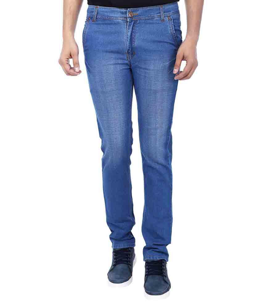 Tcg Blue Regular Fit Jeans