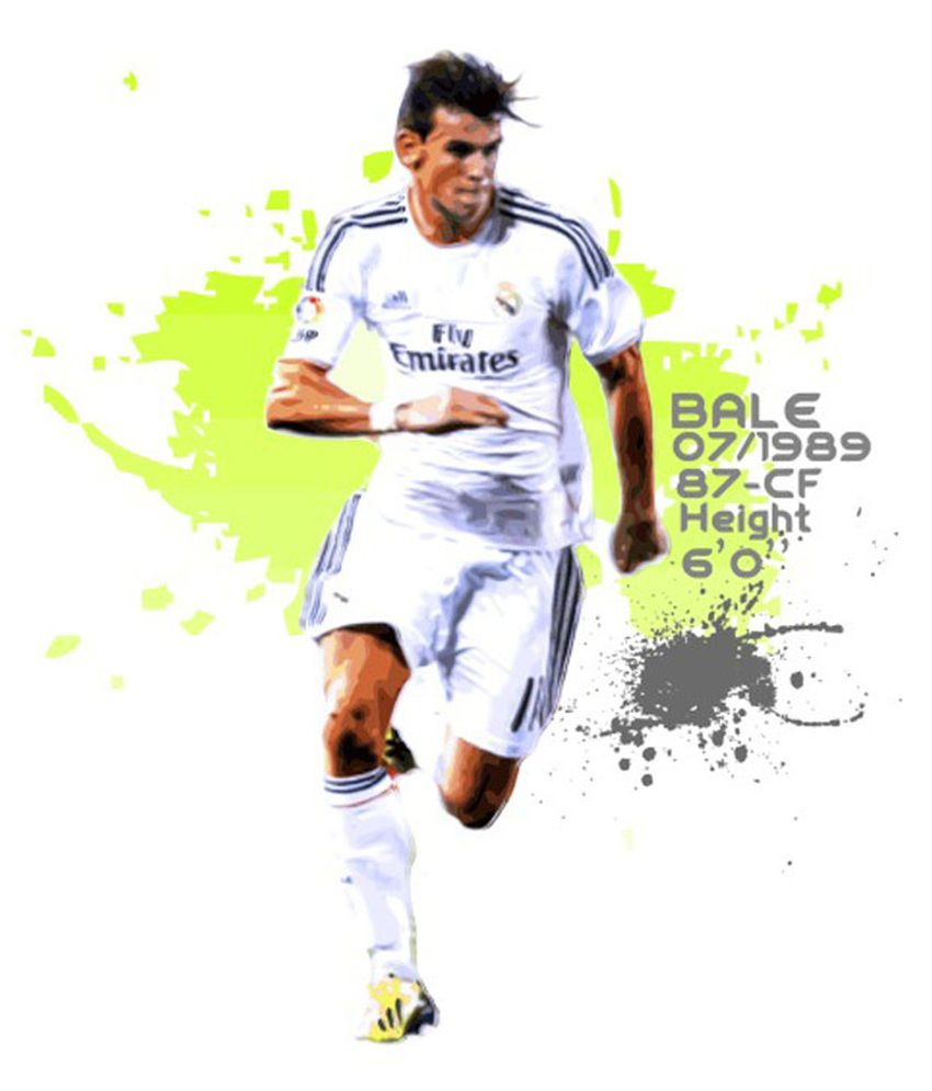 new style ebea6 7d64f ANFACHEN Gareth Bale das Design 3 Fine Art Print Poster Size ...