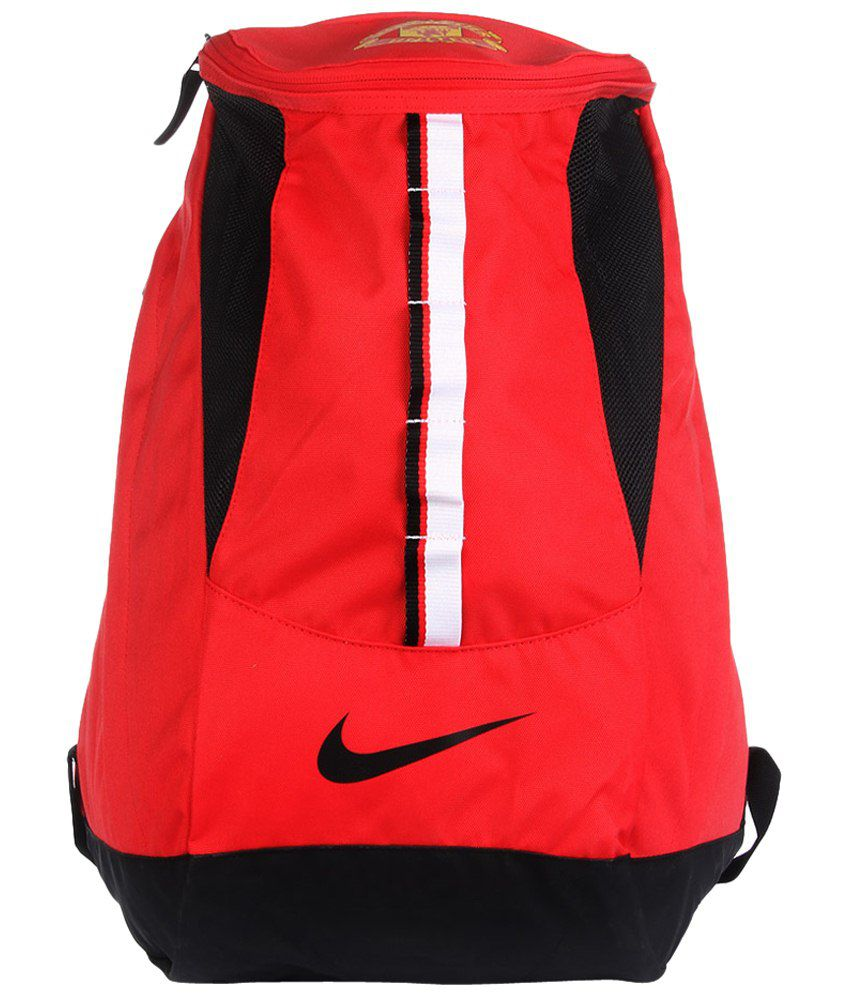 Nike Red   Black Manchester United Shield Backpack for Men - Buy Nike Red    Black Manchester United Shield Backpack for Men Online at Best Prices in  India ... b8a4be4d7ce26