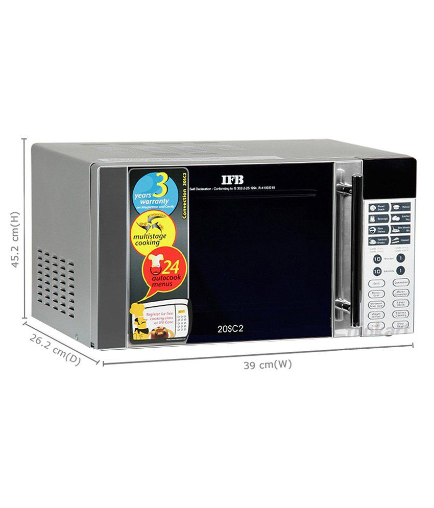 ifb 20sc2 convection microwave oven 20l price in india buy ifb rh snapdeal com Paint for Inside Microwave Oven Convection Microwave
