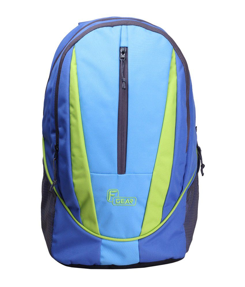 F Gear Blue Flame V2 Rugged Base Laptop Bags