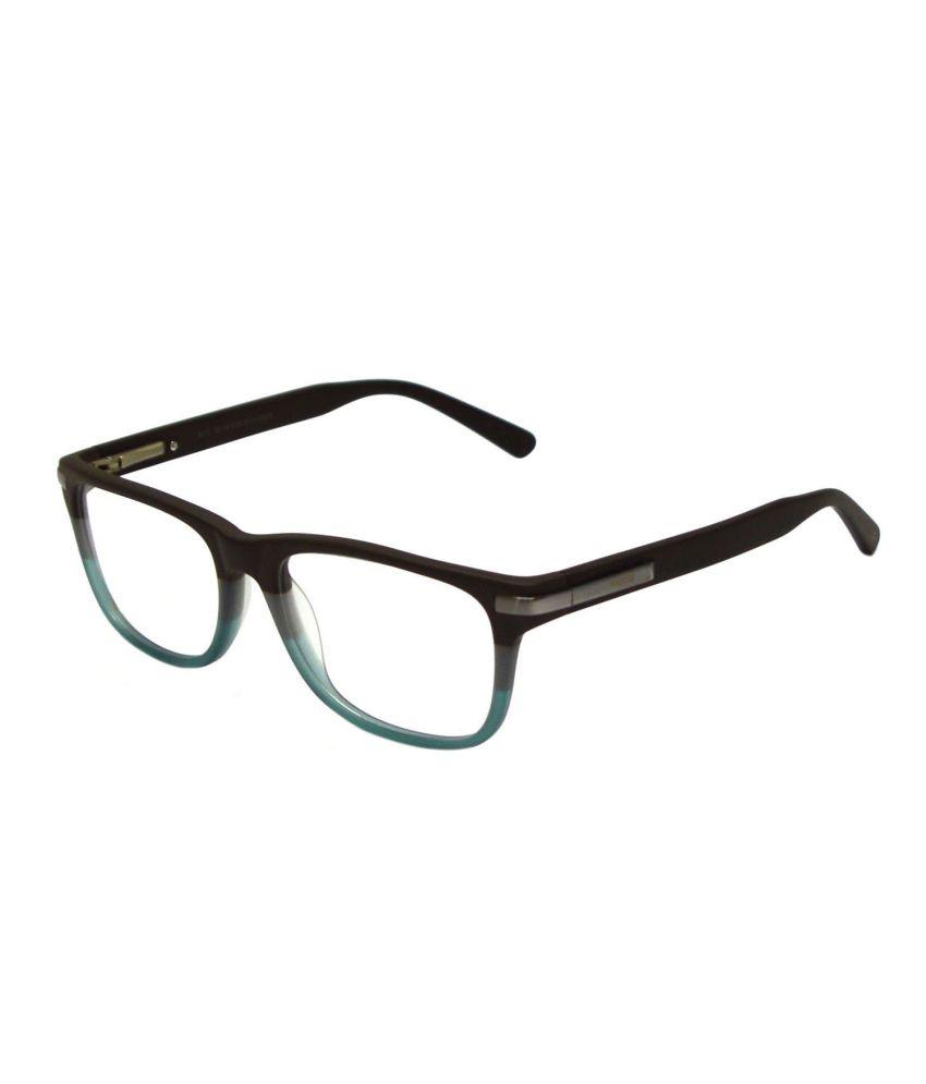 Red Knot Men Rectangle Eyeglasses Frames - Buy Red Knot ...