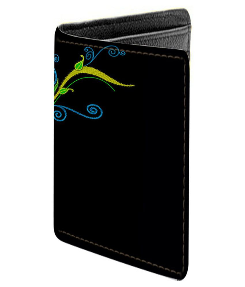 Aurra Multicolor Leather Regular Wallet