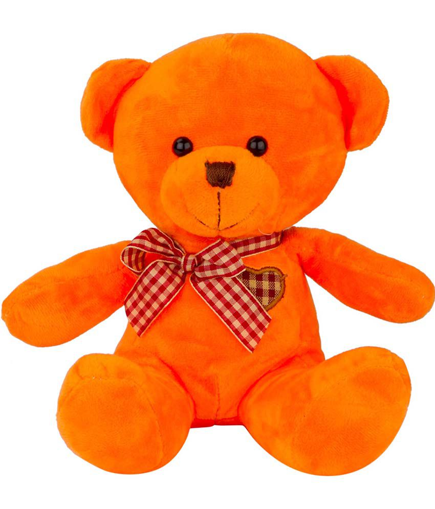 Dhoom Soft Toys Dhoom Soft Toys Orange Teddies