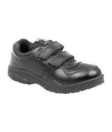 Asian Black School Shoes for Boys