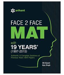 Face 2 Face MAT with 19 Years (1997-2015) Paperback (English)