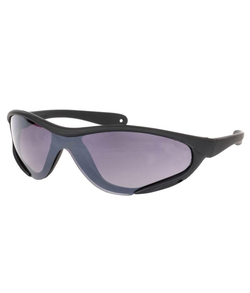 Aoito Purple Medium Unisex Sport Sunglasses
