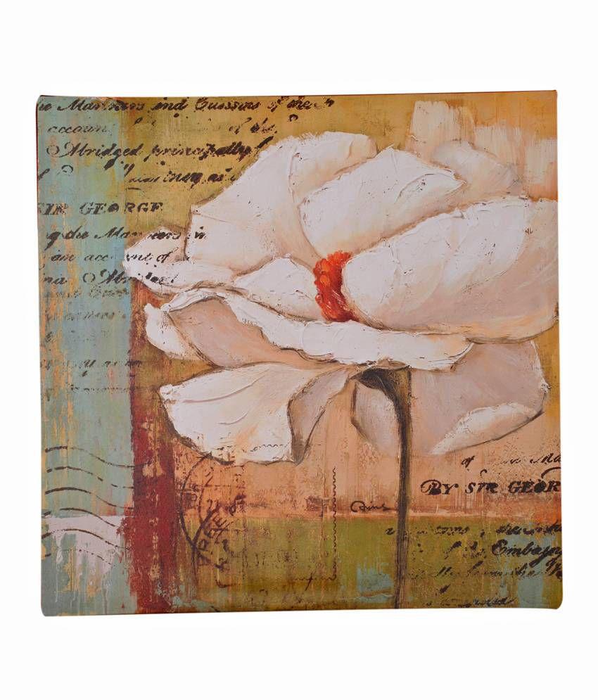 Artista Matte Wood Framed Painting