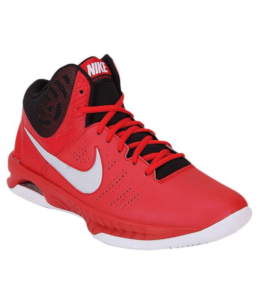 Nike Red Basketball Sports Shoes - Buy Nike Red Basketball ...