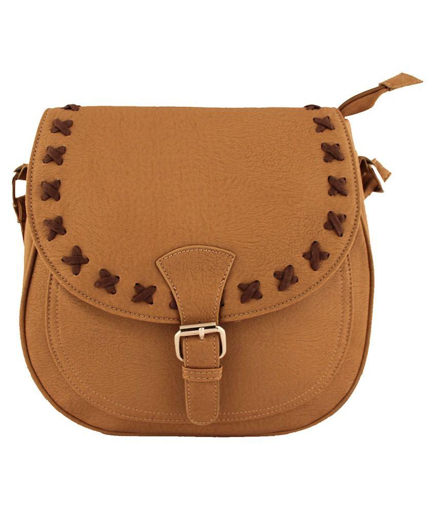 Damit Khaki Classy Sling Bag