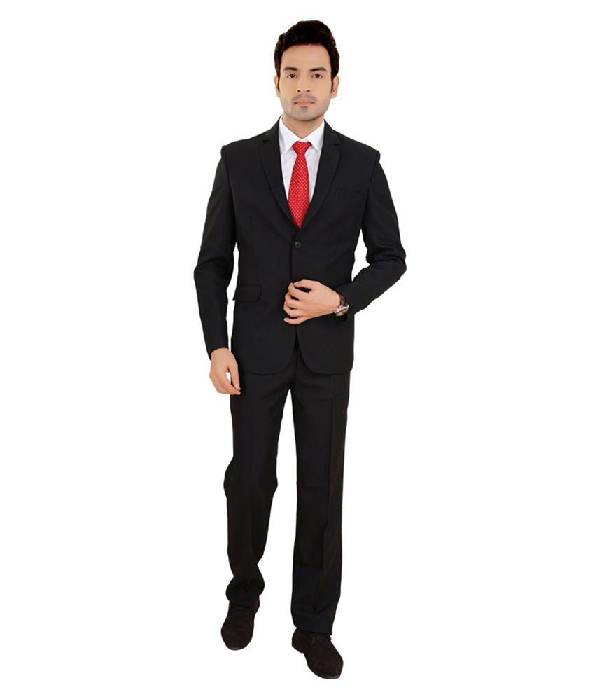Sisman International Black Formal Suit