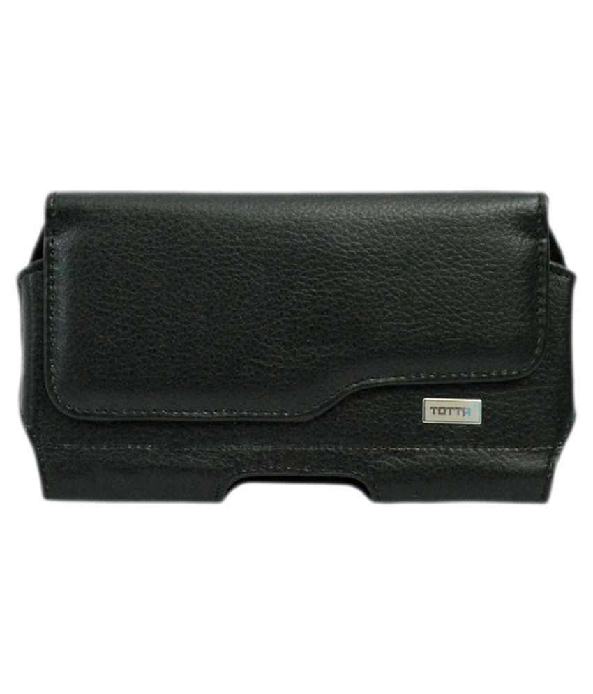 Totta Holster Cover For Iball Andi 5u Platino - Black