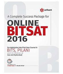 A Complete Success Package for Online BITSAT 2016 Paperback (English) 2015