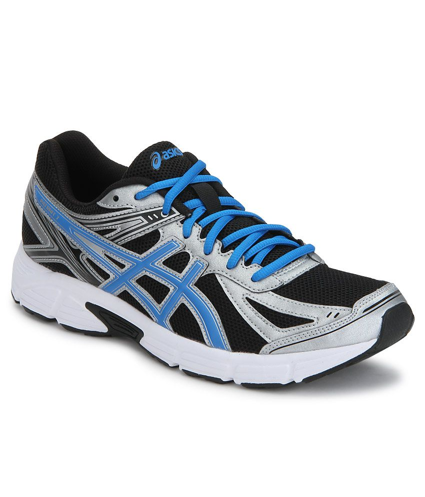 online store 4fc4c 8320a Asics Patriot 7 Black Sports Shoes - Buy Asics Patriot 7 Black Sports Shoes  Online at Best Prices in India on Snapdeal