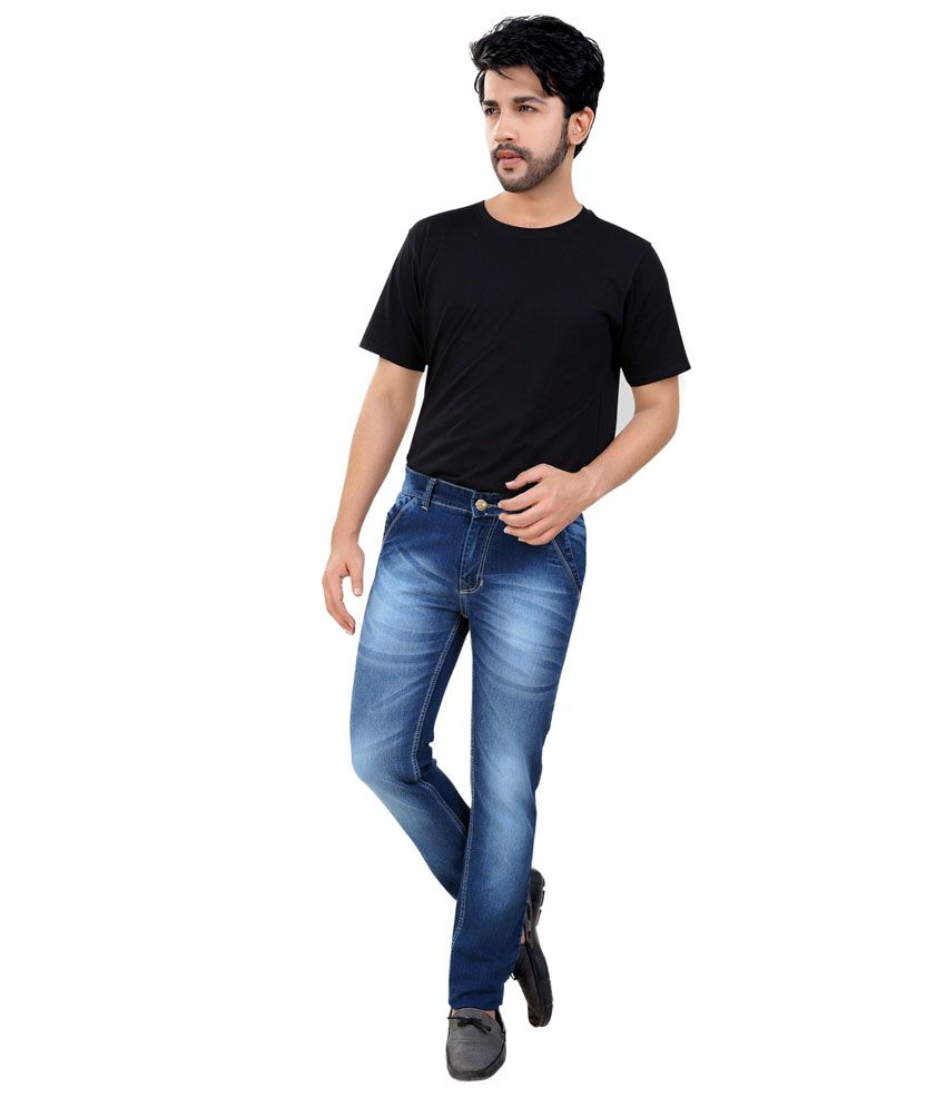 Fostil Blue Slim Fit Jeans