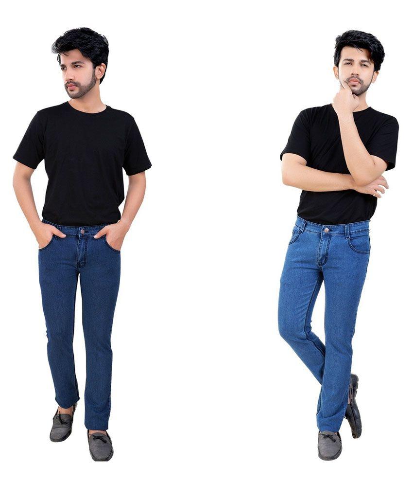 Fostil Multicolor Slim Fit Jeans - Combo