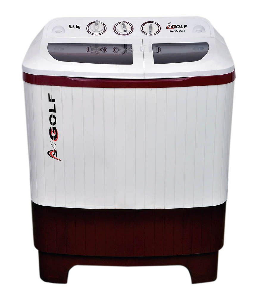 Golf Dimple Semi Automatic Washing Machine 6.5 kg- Ruby ...