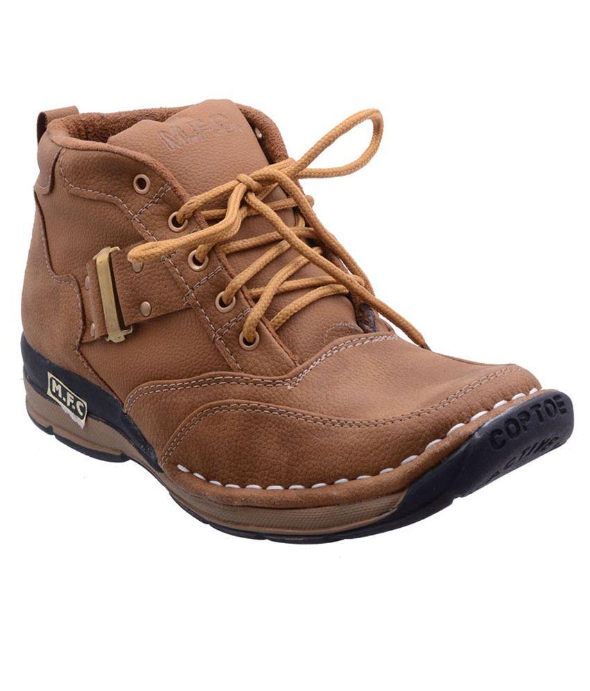 Dls Tan Boots
