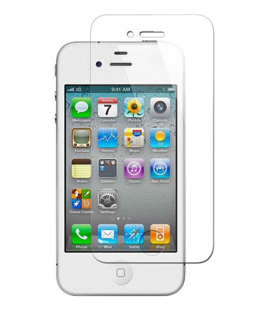 Apple iPhone 4 Tempered Glass Screen Guard by AV Styles