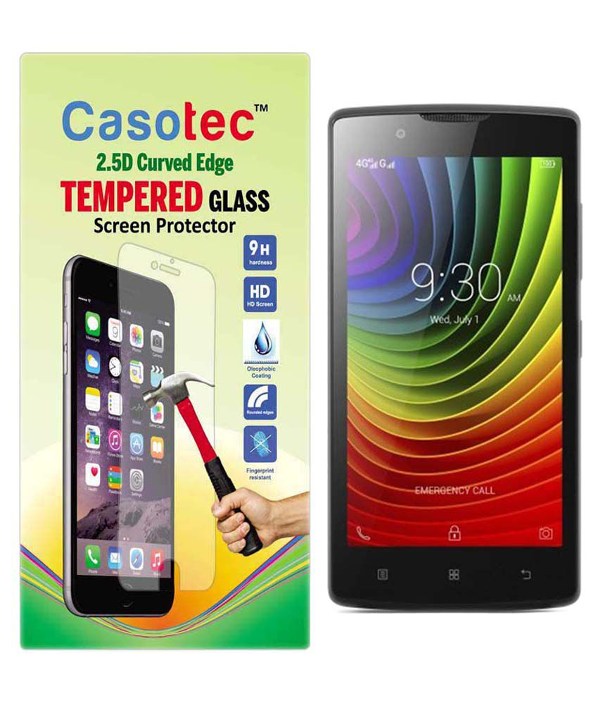 Lenovo A2010 Tempered Glass Screen Guard by Casotec