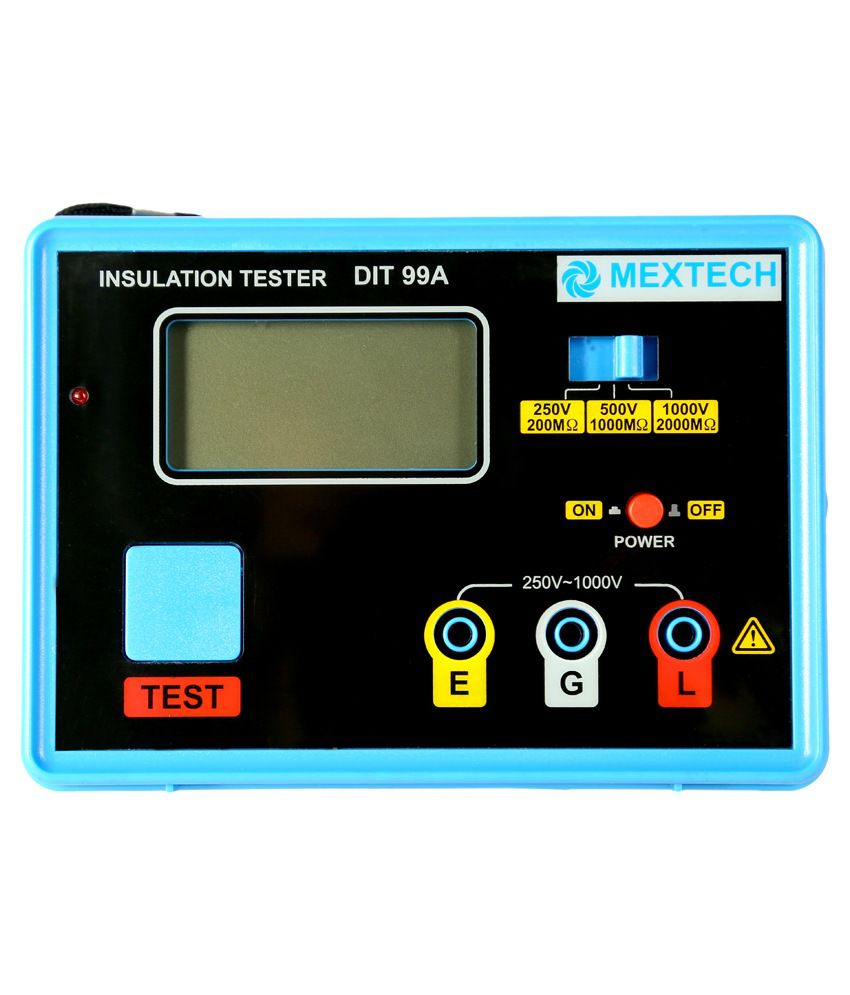Mextech DIT-99A Digital Insulation Tester