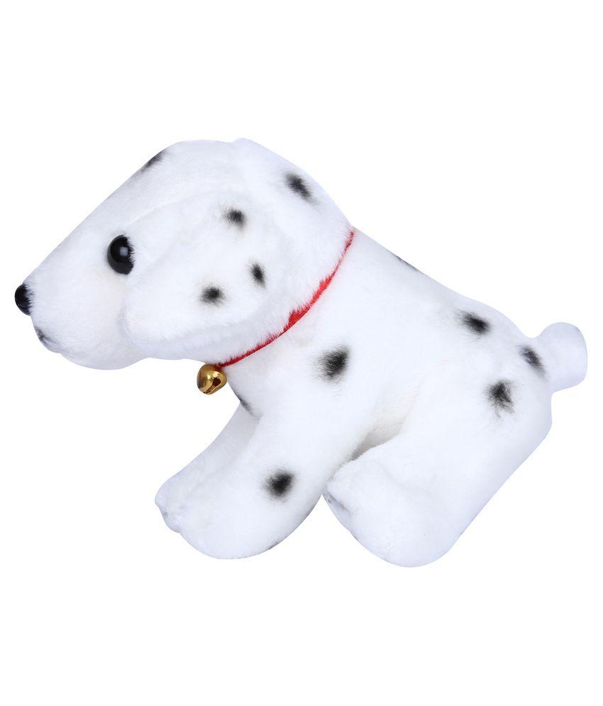 Richline White Soft Dog