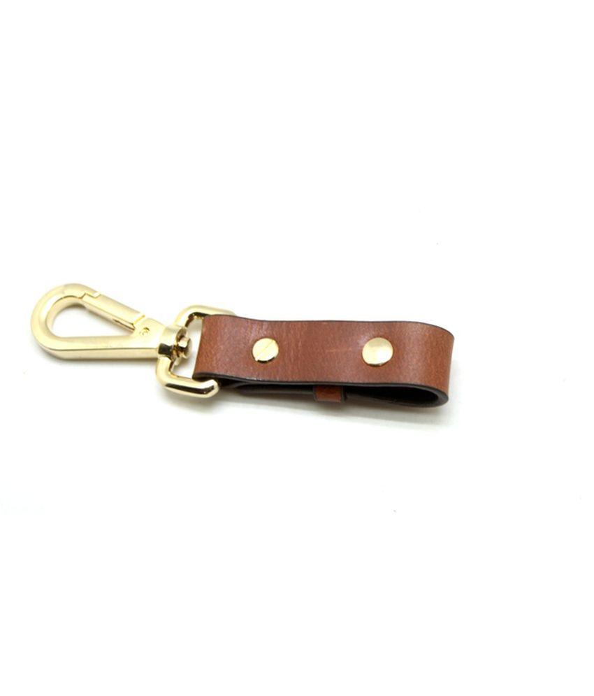 Urban Vintage Leather Keychain