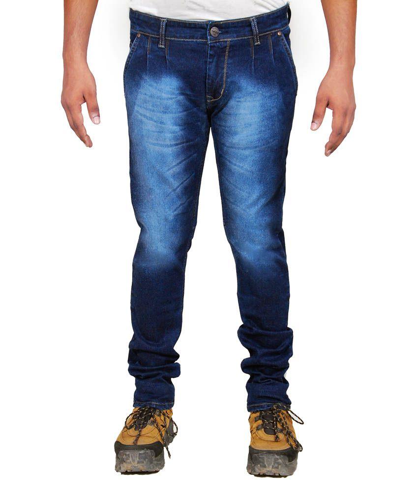 Siz Fashion Blue Slim Fit Jeans