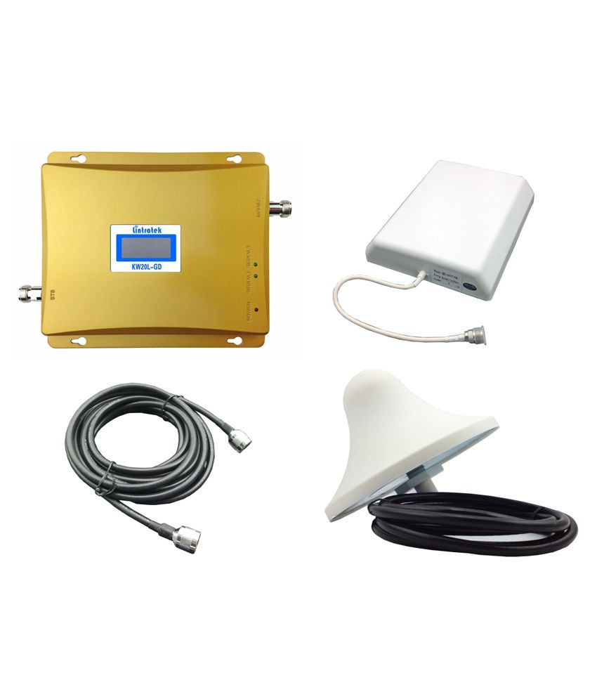 Lintratek Kw20l Gsm 2g Mobile Signal Booster - Gold