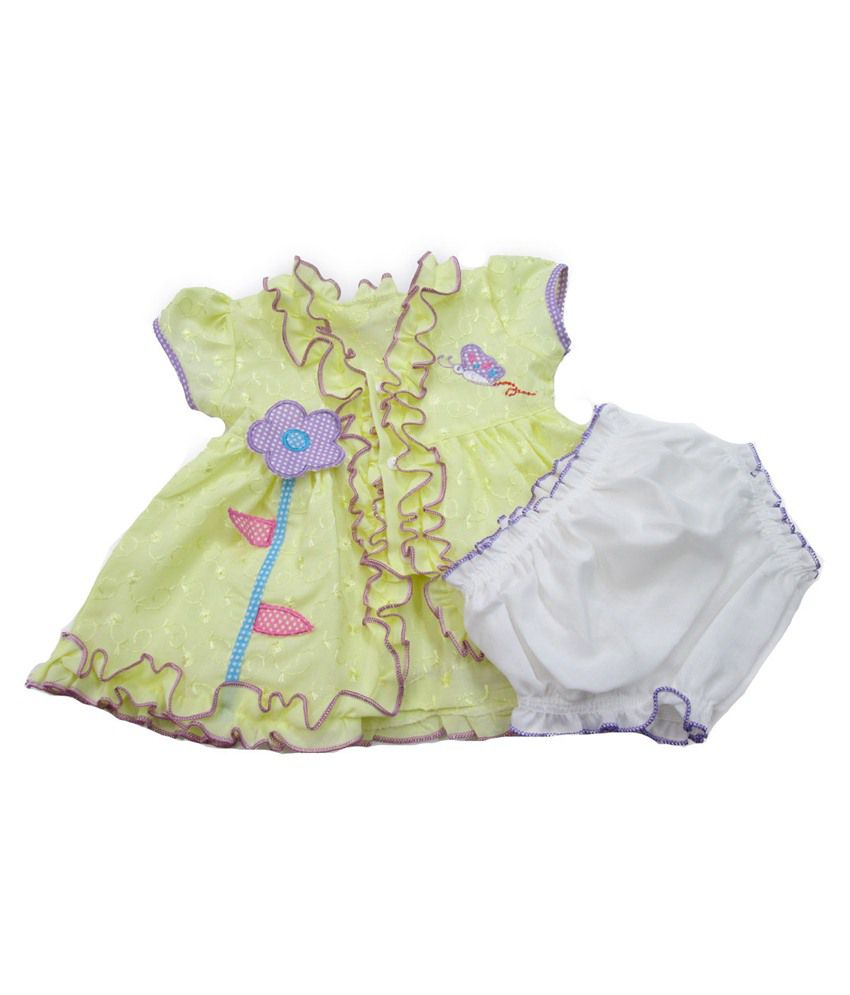 47b8554d4 Smith Baby Frock Green Frock For Girls - Buy Smith Baby Frock Green Frock  For Girls Online at Low Price - Snapdeal