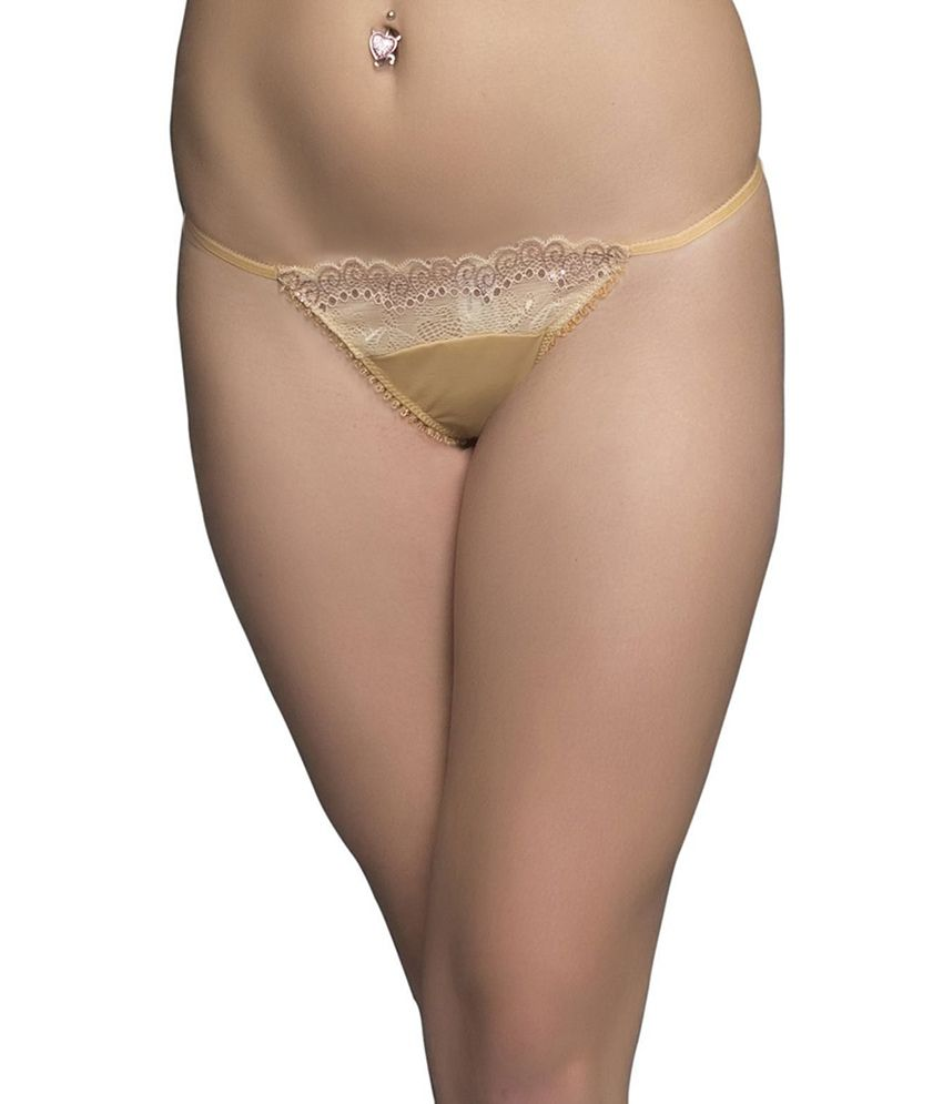 85f23e5e9d9b Buy Clovia Sexy Thong In Nude Online at Best Prices in India - Snapdeal