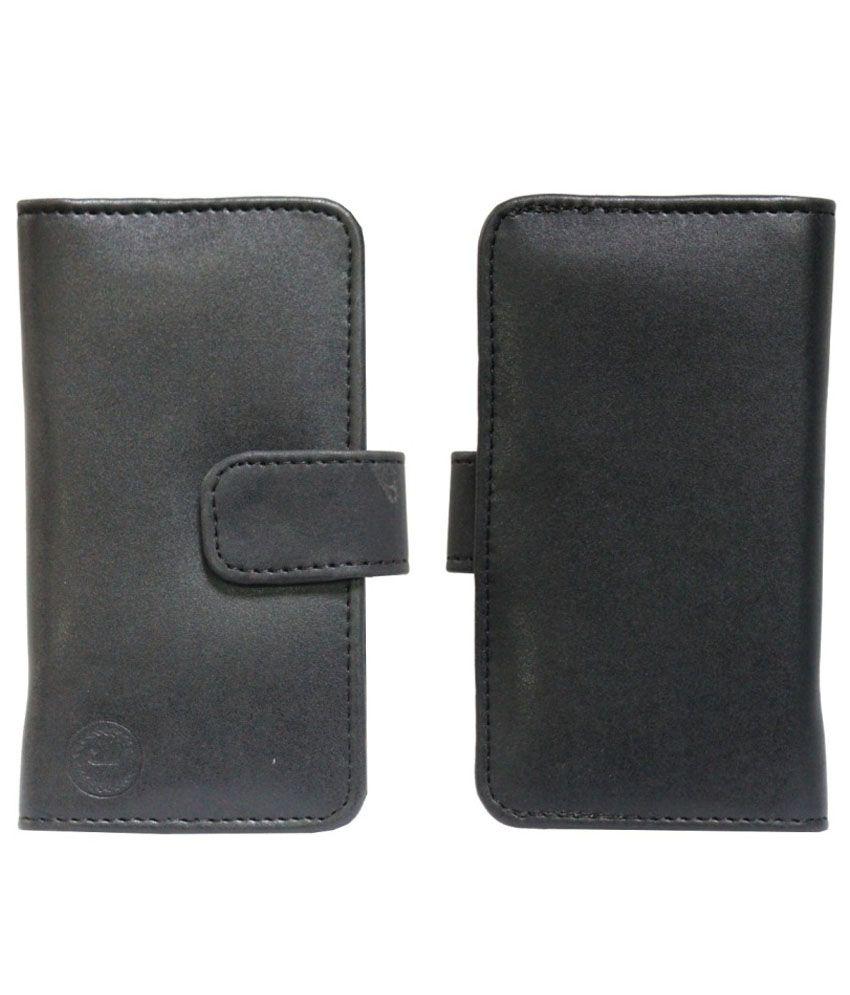 Jo Jo Flip Cover For BlackBerry Torch 9860 - Black