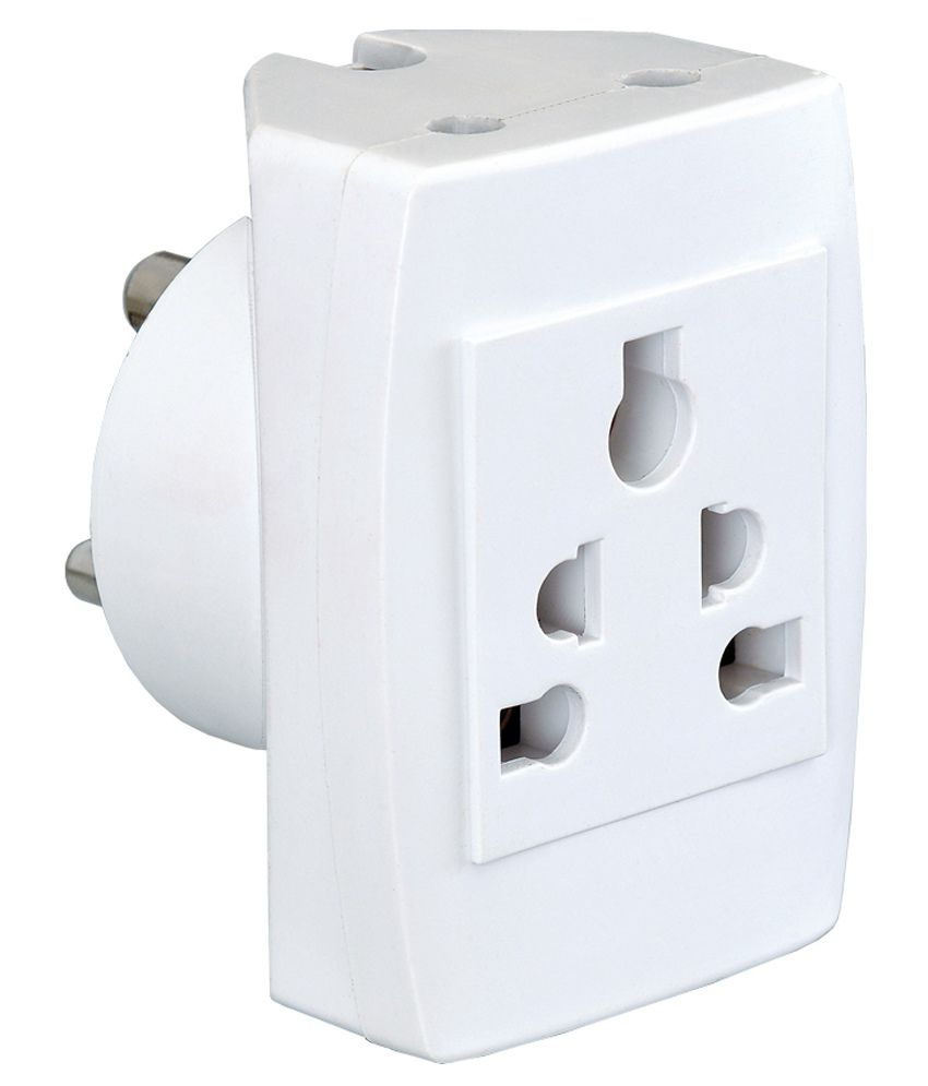 Buy Vinay 6 Amp 4 In 1 Pin Multi Plug Socket Online At Low Price India