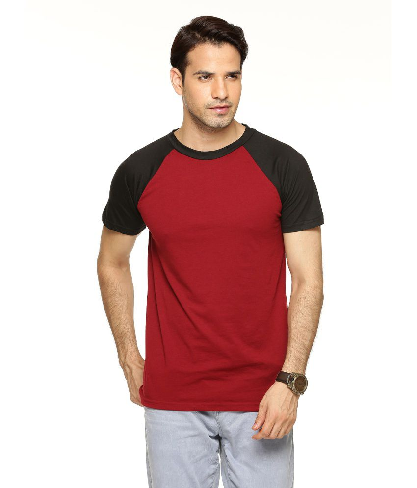 Being Crazy Solid Men'S Round Neck T-Shirt