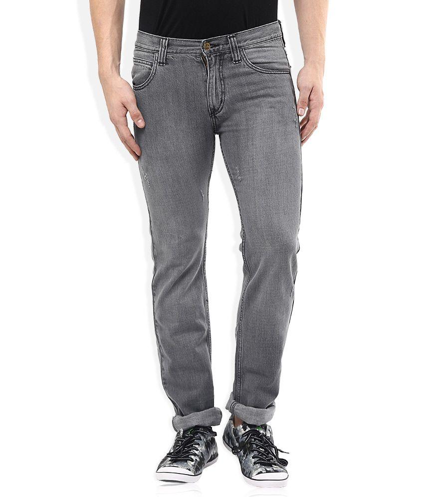 Lee Grey Slim Fit Jeans